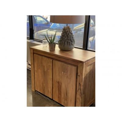 "Acacia Wood Sideboard 40"" ZEN-BUF-A"