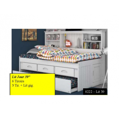 "Twin Day Bed 39"" 222"