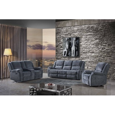 1807 3pcs Reclining Set