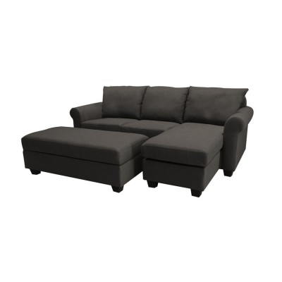 80819 Sofa Chaise with sofa bed