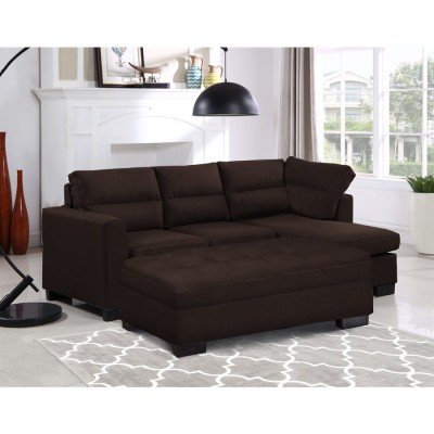 80914 Sofa Chaise with sofa bed