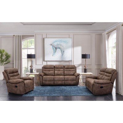 9939 3pcs Reclining Set