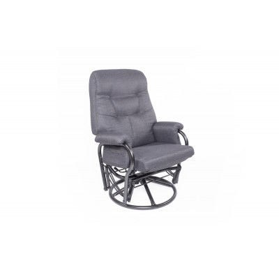 Chaise bercante, pivotante et inclinable F03