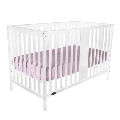 William 4-in-1 Convertible Baby Crib (White)