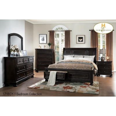 Begonia Queen 6pcs. Bedroom Set