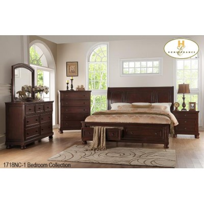 Begonia King 6pcs. Bedroom Set