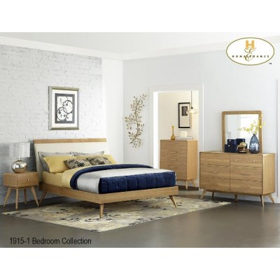 Anika Queen 6pcs. Bedroom Set