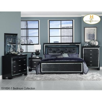 Allura Queen 6pcs. Bedroom Set