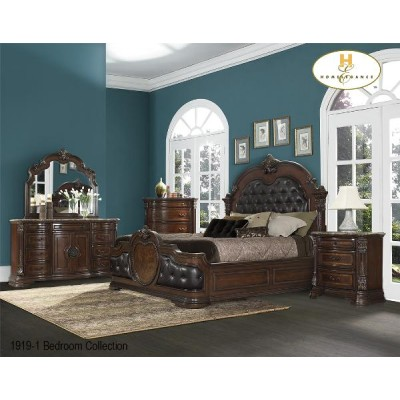 Antoinetta Queen 6pcs. Bedroom Set