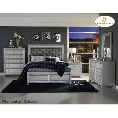 Bevelle King 6pcs. Bedroom Set