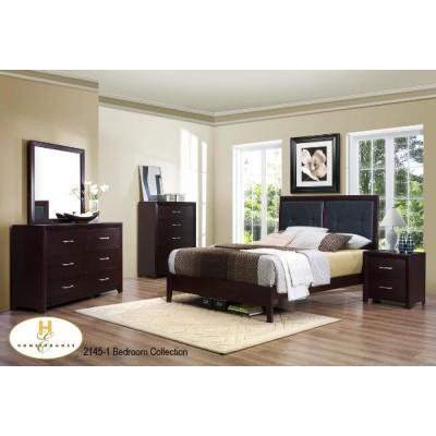 Edina Twin 5pcs. Bedroom Set