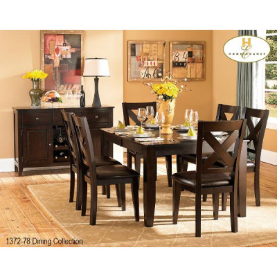 Crown Point 7pcs. Dining Set