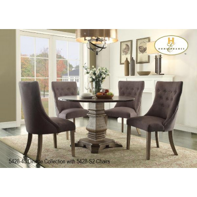 Country Rustic 5pcs. Dining Set