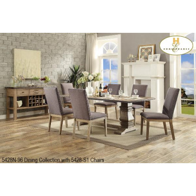 Anna Claire II 7pcs. Dining Set