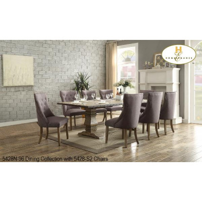 Anna Claire II 9pcs. Dining Set