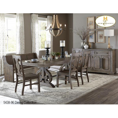 Casual Country 6pcs. Dining Set