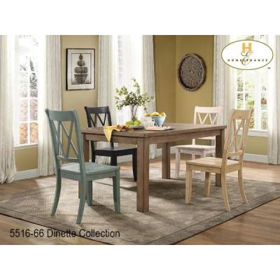 Ensemble Table Et Quatre Chaises Janina