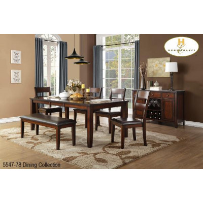 Atlanta 6pcs. Dining Set
