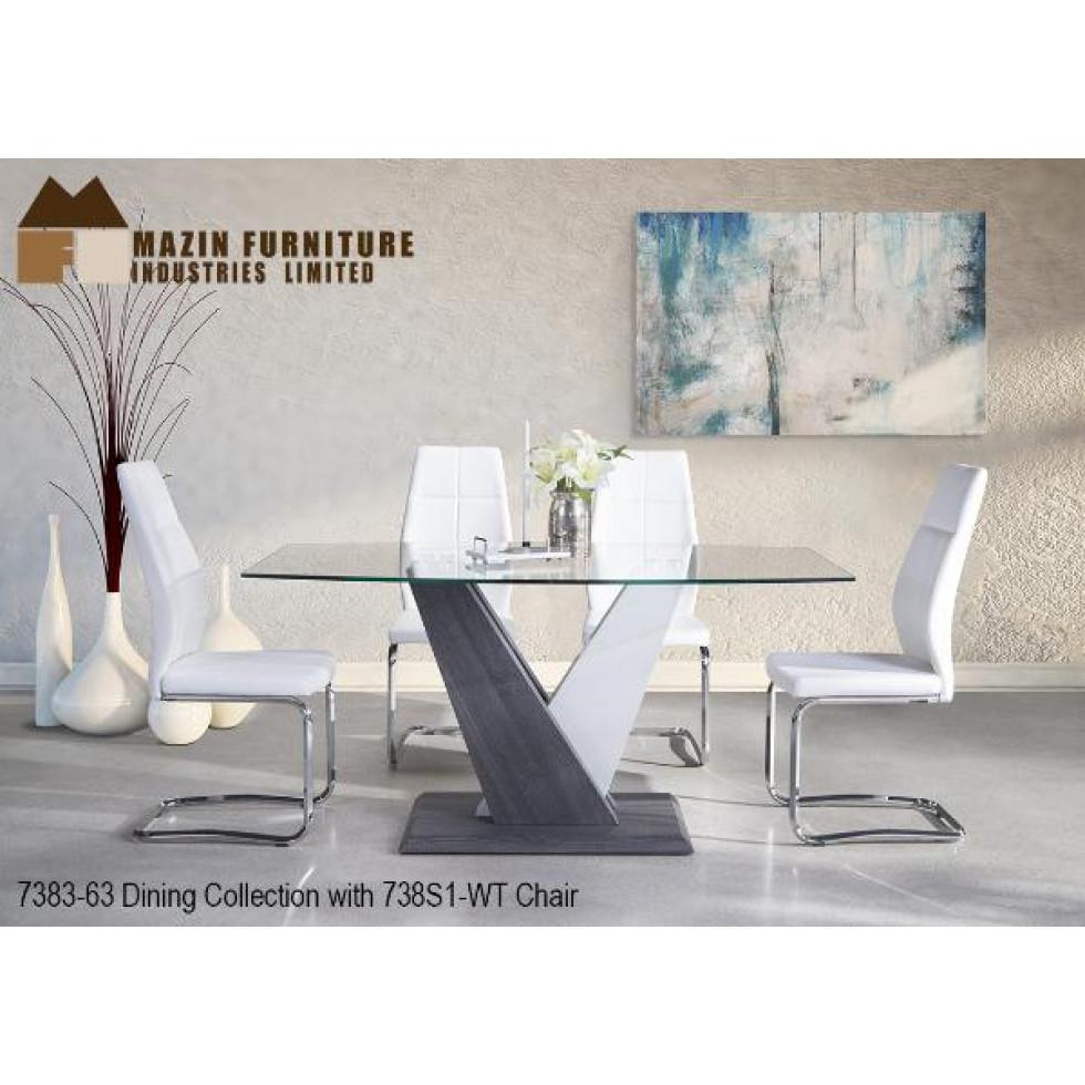 Ensemble table et quatre chaises modern francis campbell - Ensemble table et chaises ...