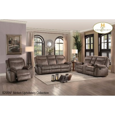 Aram Reclining Sofa 8206