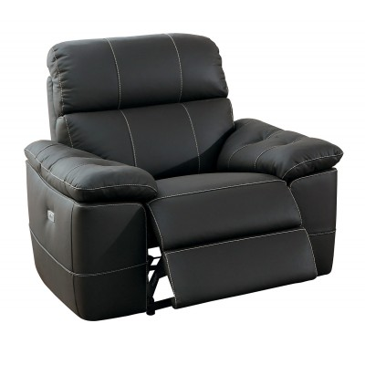 Nicasio Power Recliner (Brown)