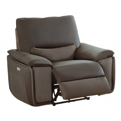 Corazon Power Recliner (Dark Grey)