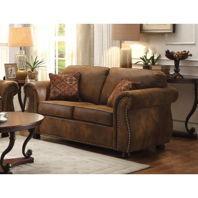 Corvallis Loveseat (Brown)