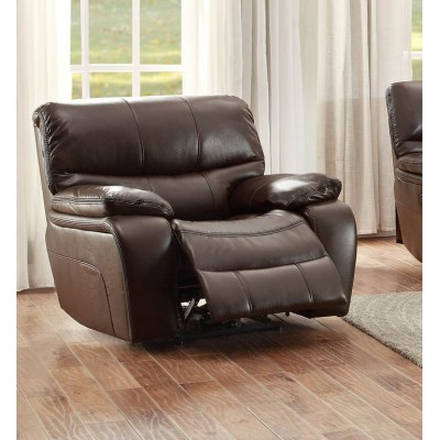 Pecos Power Reclining Chair (Dark Brown)