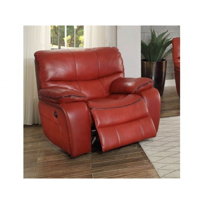 Pecos Power Reclining Chair (Red)
