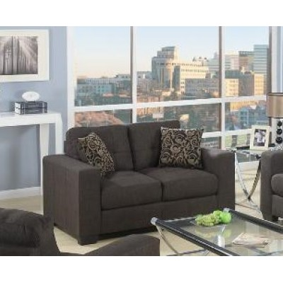 Monterey Loveseat (Dark Grey)