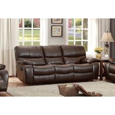 Cassy Reclining Sofa (Brown)