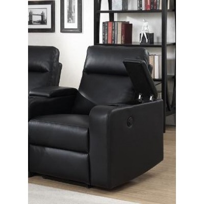 RAF Reclining Chair Saville (Black)
