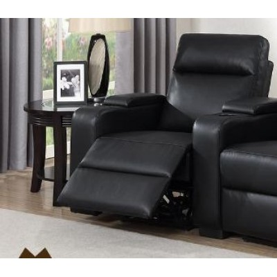 LAF Reclining Chair Saville (Black)