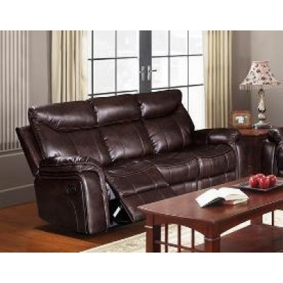 Chastain Reclining Sofa (Brown)
