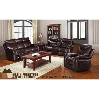 Chastain Reclining 3pcs. Set (Brown)