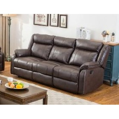 Duncan Reclining Sofa (Brown)