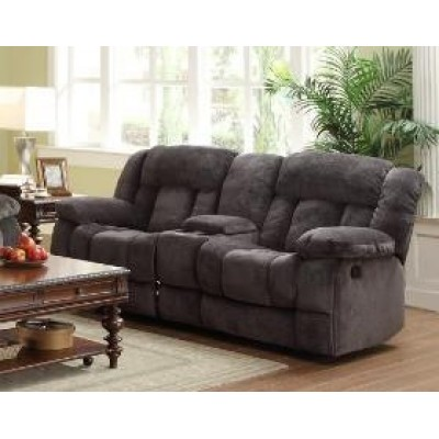 Laurelton Reclining Loveseat (Charcoal)