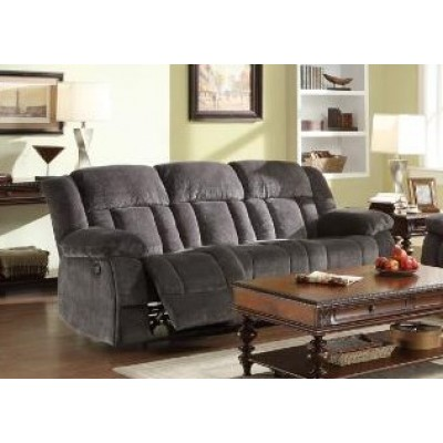 Laurelton Reclining Sofa (Charcoal)