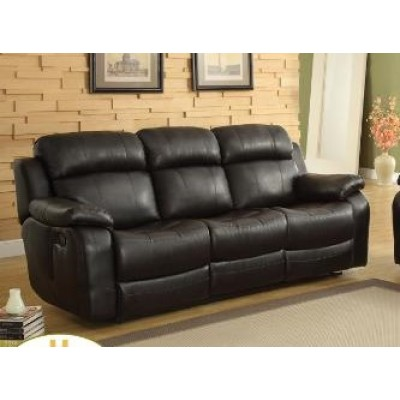 Marille Reclining Sofa (Black)