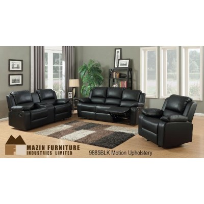 Brewster Reclining 3pcs. Set (Black)