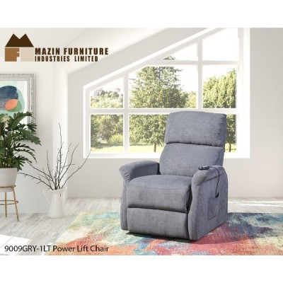 Elevated Power Lift Chair (Grey)