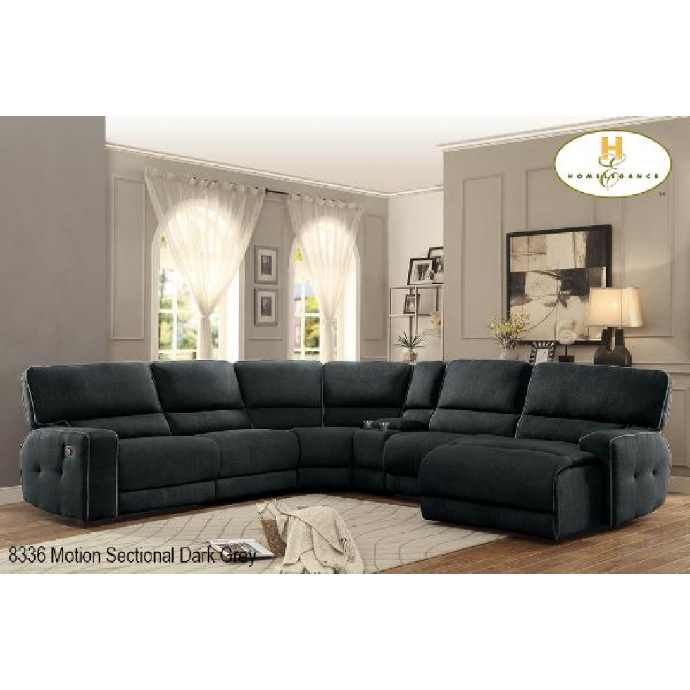 Modulaire inclinable 6mcx keamey francis campbell meubles for Sofa modulaire liquidation