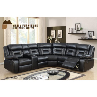 Kimberley Reclining Sectional (Black)