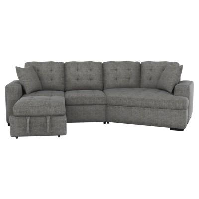 9401 2pcs Sectional (Grey)