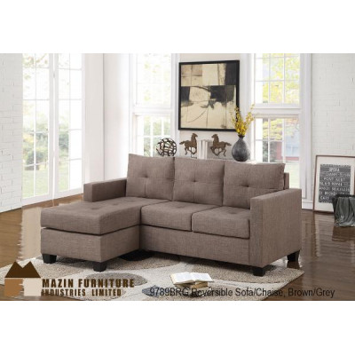 Phelps Sectional (Brown/Grey)