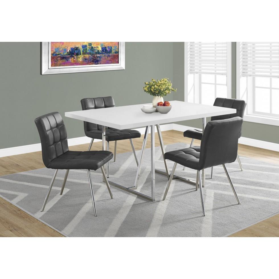 """Rehausser Une Table De Salle A Manger table salle à manger 36""""x60"""" i1063 - francis campbell meubles"""