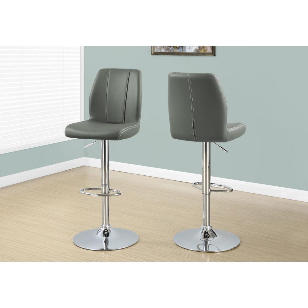 Tabouret ajustable i2336 francis campbell meubles for Tabouret bar ajustable