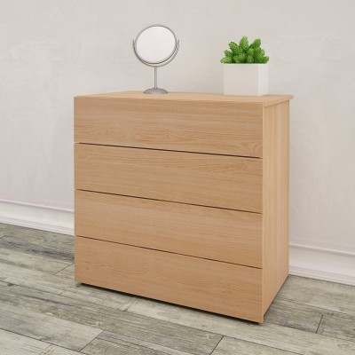 4-Drawer Chest 341405 (Natural Maple)