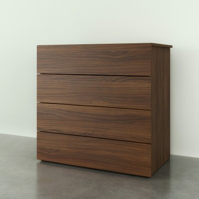 4-Drawer Chest 341431 (Natural Maple)