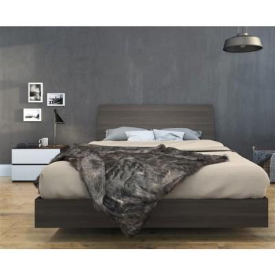 Momentum Queen Size Bedroom Set 3pcs (Ebony/White) 400761